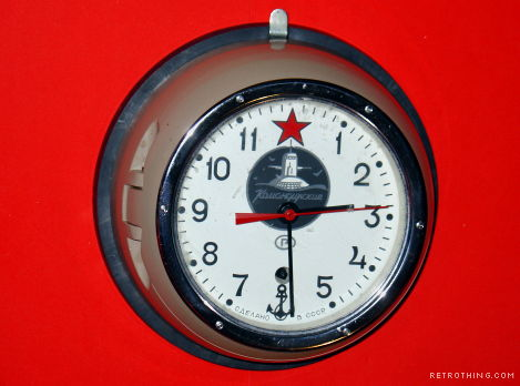 Retro Thing: Soviet Nuclear Submarine 8-Day Springwound Clock