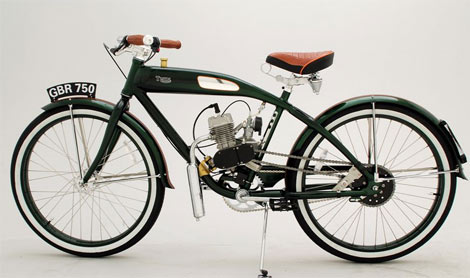 Retro Thing: Ridley Vintage Motorized Bicycles