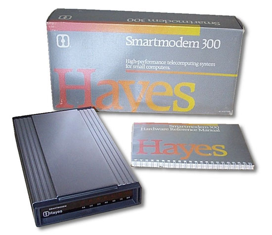 The immensely popular Smartmodem 300
