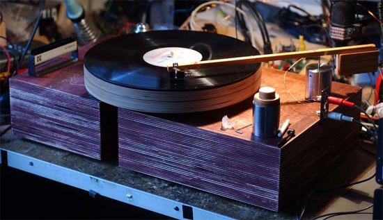 Retro Thing Build Your Own Turntable