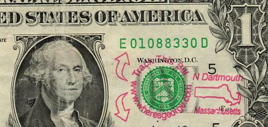 20 dollar bill secrets. 1 dollar bill back.