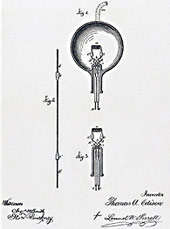Looks like Edison also invented the Tootsie Pop.