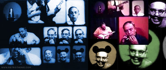 Multi-exposure Mickey Mouse moviemaking madness!