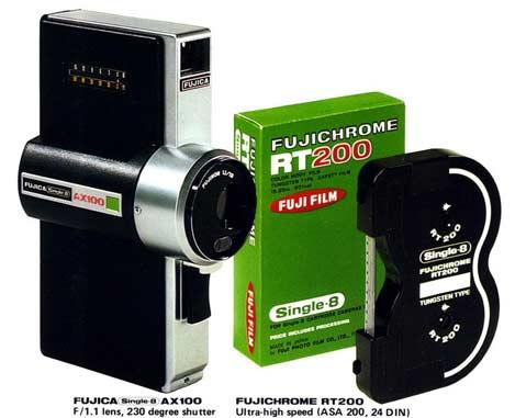Fujica AX100 camera + film