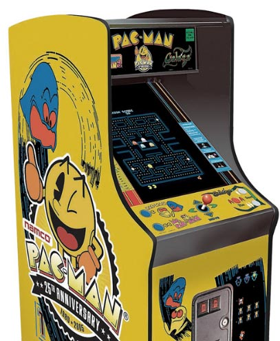 Pac-Man, Galaga and Ms Pac-Man in a single console