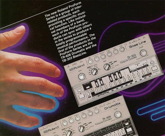 No one on earth knows how to program a TB-303 properly. That's its secret.