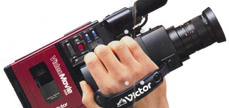 JVC's first ungainly camcorder
