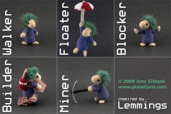 Retro Thing Woolen Lemmings