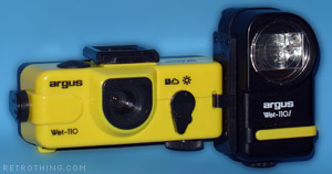 Perfect camera for underwater demolition experts.