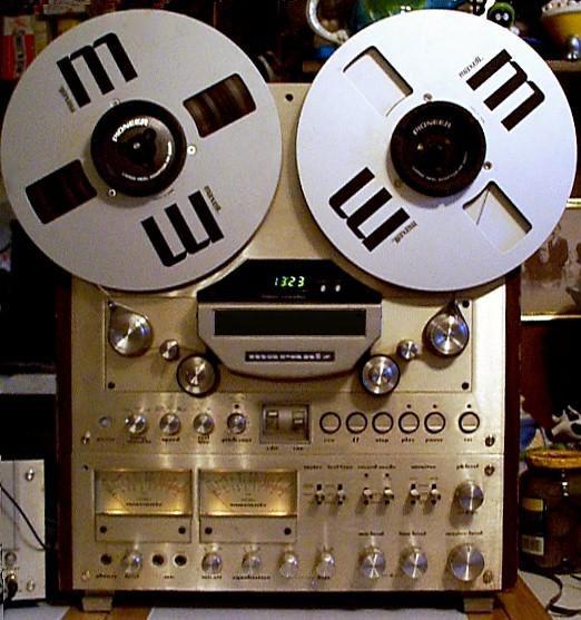 Recording studios tape