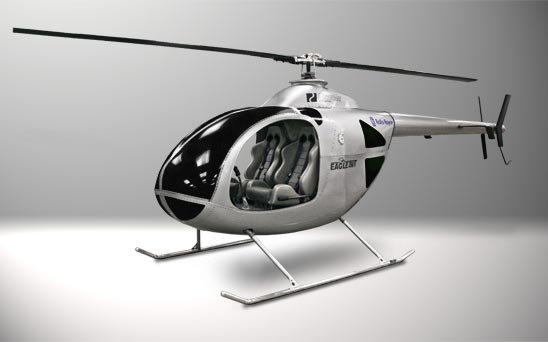 RotorWay Eagle 300T prototype