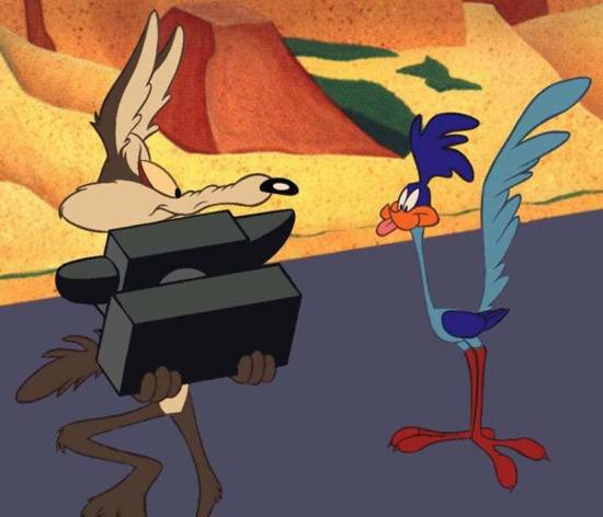 Road Runner is a sadist who's just asking for it...