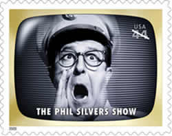 All my mail from now will have Bilko stamps.