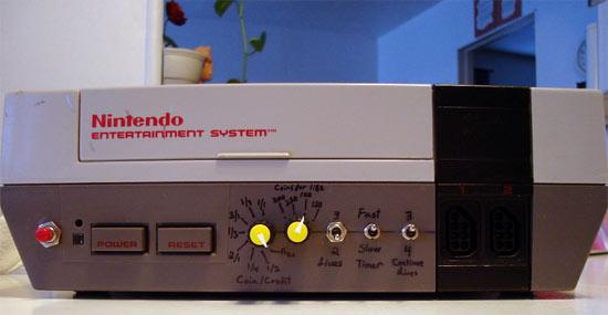 NES arcade mod