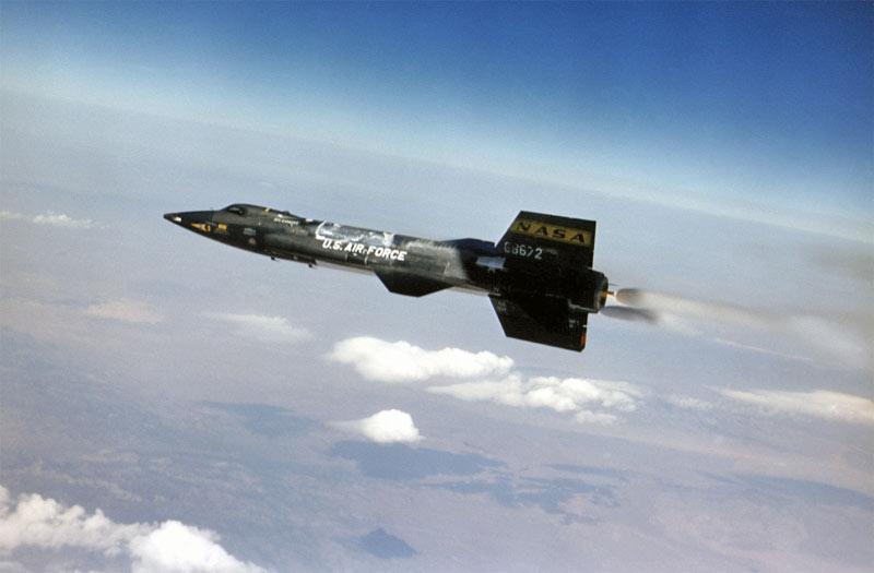 X-15-flight