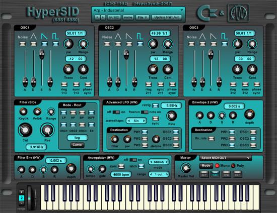 Hypersid GUI