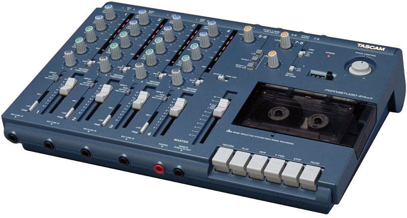 Tascam's last 4-track cassette recorder
