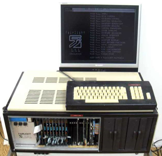 Fairlight test machine