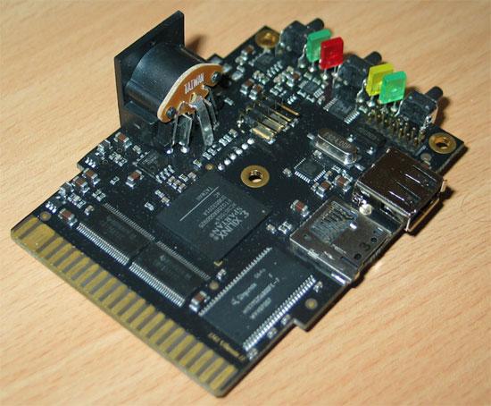 1541 Ultimate-II circuit board