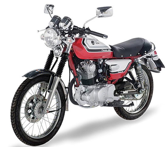 The new SYM Classic 150
