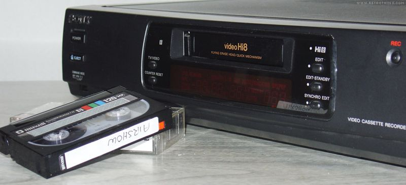 I opened the VCR up, and yes... there's a lot of air in there.