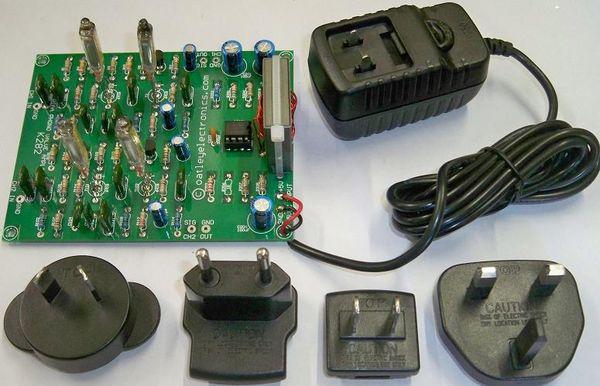 Retro Thing: Low Voltage Tube Phono Preamp Kit