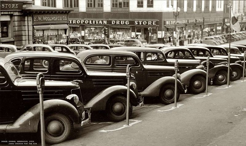 South 24th St, Omaha, Nebraska, November 1938