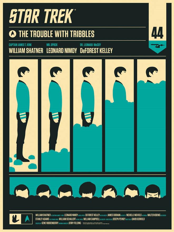Spock & Tribbles