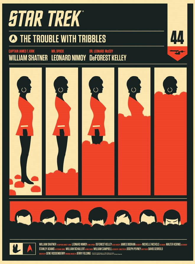 Uhura & tribbles