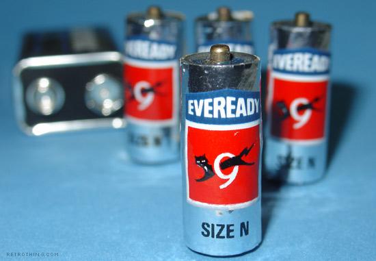 N size batteries