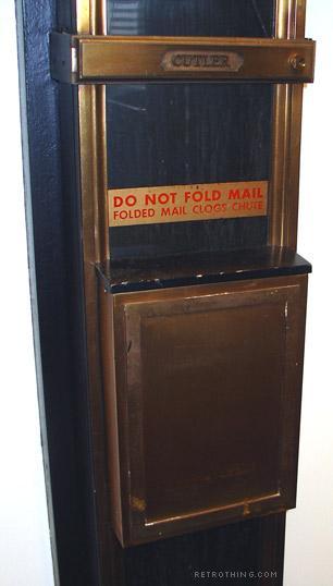 Mail-chute