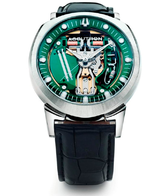 The History Of The Accutron 'Spaceview' Watch