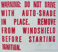 There's a bit of 'no duh' about this warning...