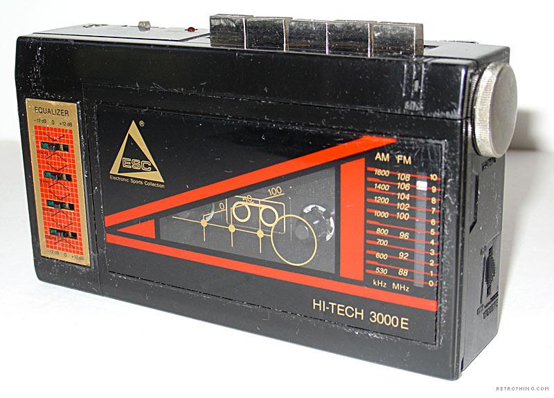 Hitech-walkman