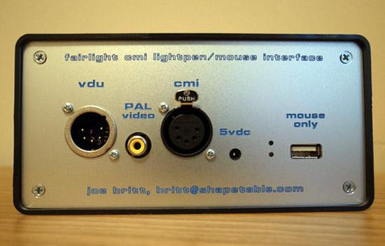 Fairlight-interface
