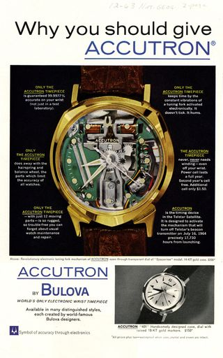 Accutron ad