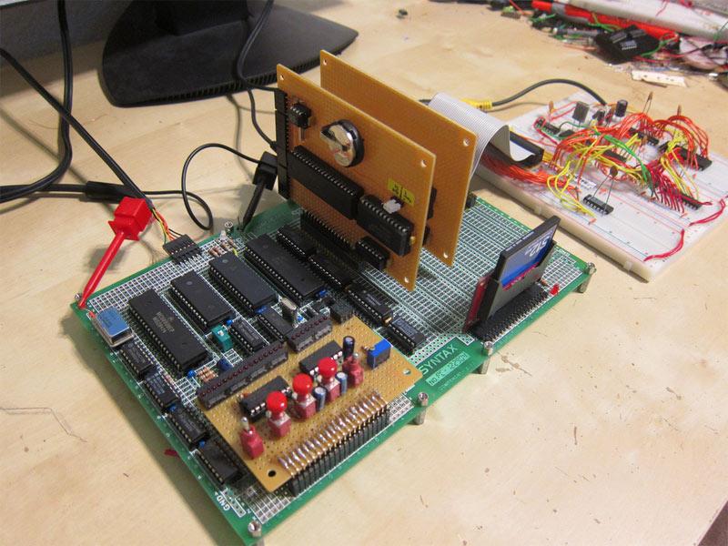 retro thing scratch built 8 bit retro computer