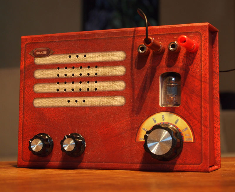 Retro thing diy cardboard tube radio kit diy cardboard tube radio kit by james grahame good looking cardboard solutioingenieria Choice Image