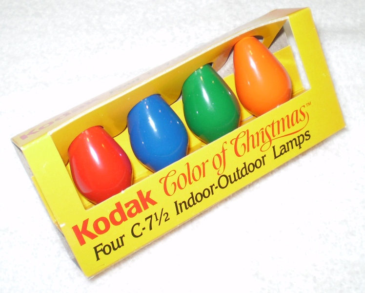 Kodak xmas lights