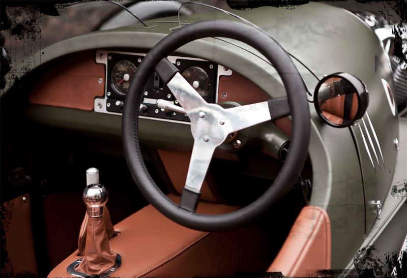 Threewheeler-cockpit