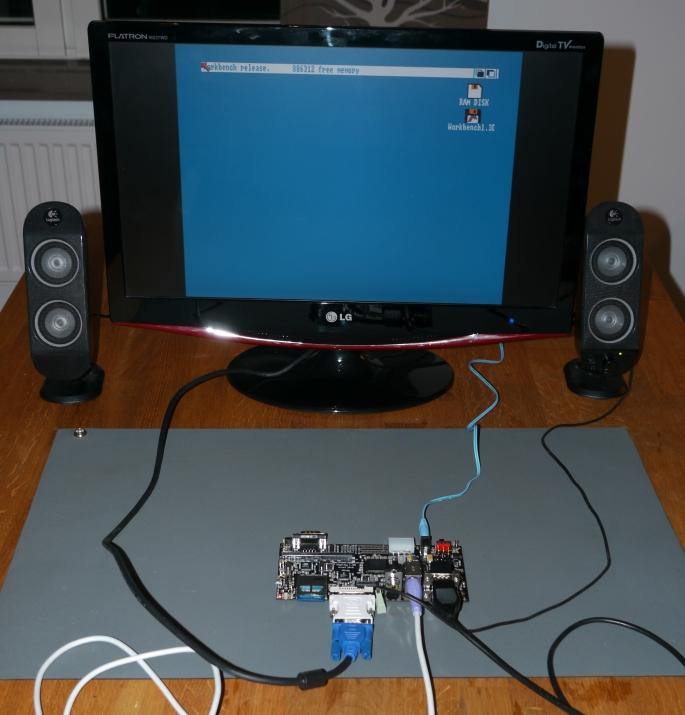 Emulating an Amiga