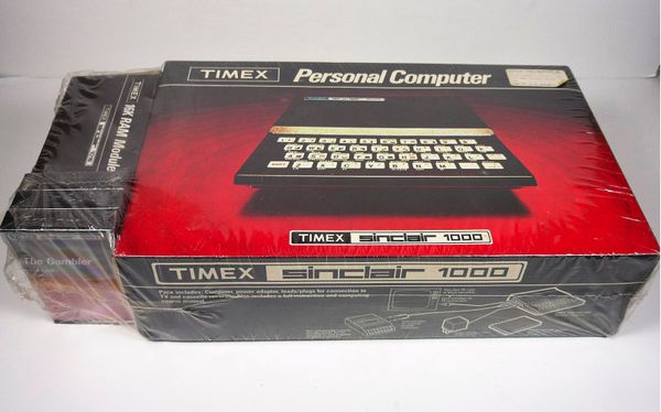 Retro Thing  An Unopened Timex Sinclair 1000