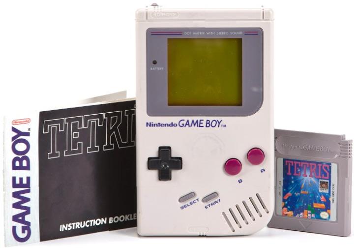 Handheld Games Retro Thing