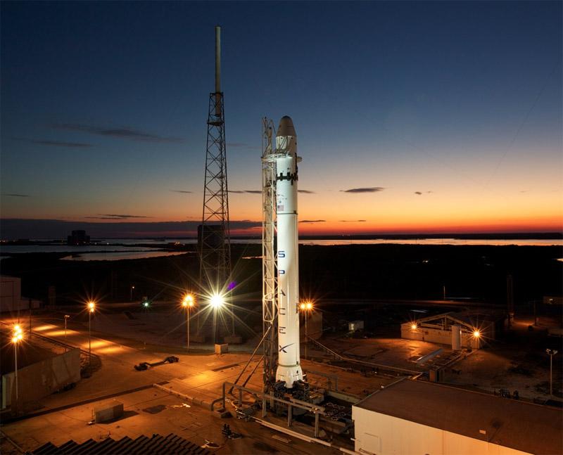 Falcon9-dusk