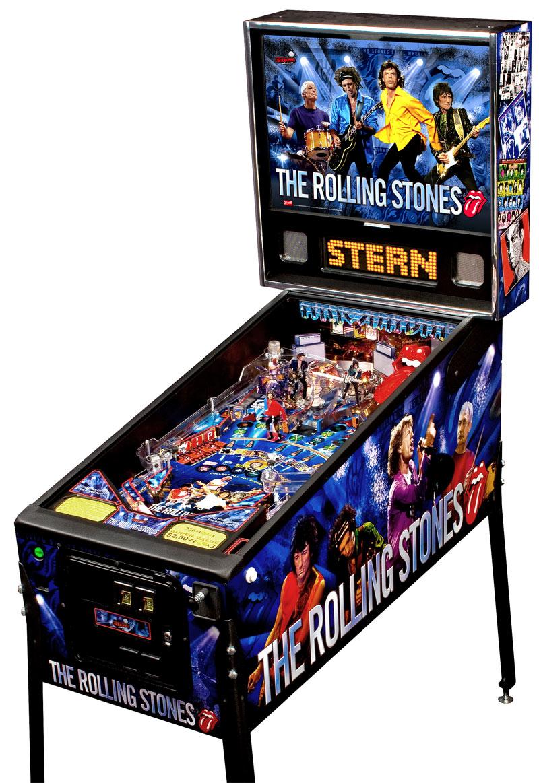 retro pinball machine