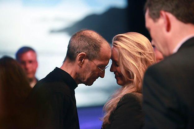 Steve and Laurene