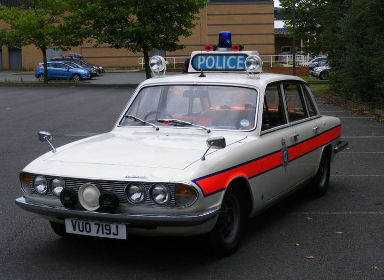 Triumph 2000 That Once Served With The Devon Cornwall Conulary Upon Learning Its History Er Set About Dressing Car In 1970s Police