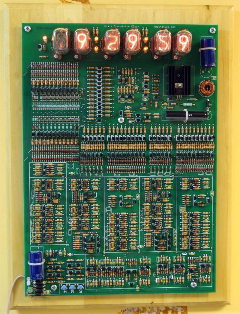 Nixie Transistor Clock