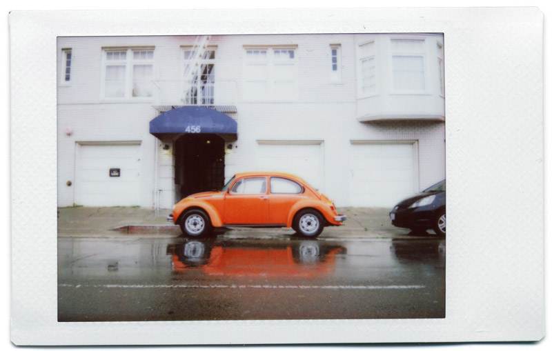 Instant beetle photography