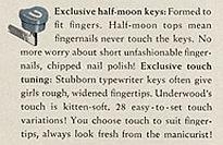 Underwood keys